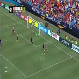 Jacob Bruun Larsen Goal - Liverpool 1 vs 3 Dortmund ( English )
