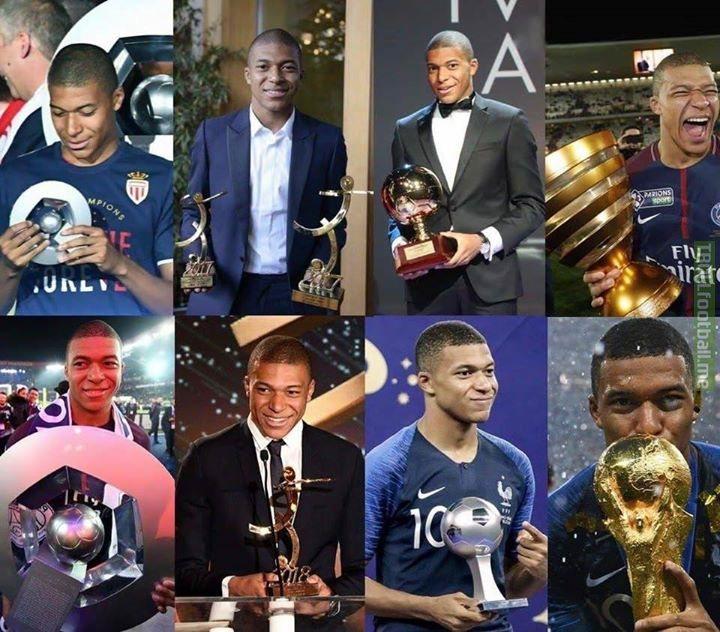 Kylian Mbappe. Future Ballon d'Or winner.