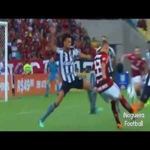 Matheus Savio (Flamengo) goal against Botafogo - 2x0