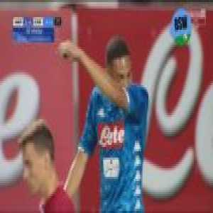 Napoli [5]-0 Carpi - Vinicius 85'