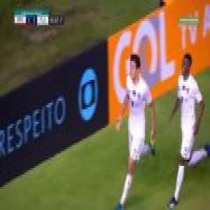 Pedro's clumsy rabona goal [Sport 1:(2) Fluminense]