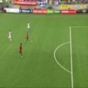 Unbelievable miss by Mesaque Dju - Portugal U19 2-0 Finland U19