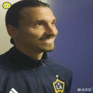 """Zlatan Ibrahimovic: """" I didn't change American football. I just keep doing my job. And they are lucky I didn't come here 10 years ago because I would be their president today"""""""