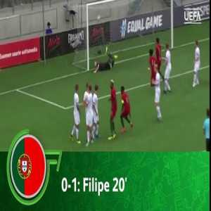 Portugal vs Finland - Highlights & Goals - EURO U19