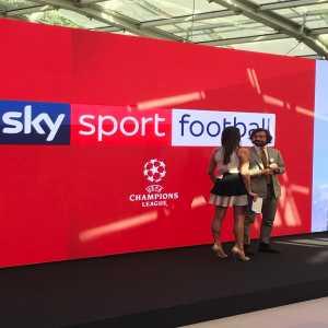 Sky Sport team this season:-Alessandro Del Piero, Fabio Capello, Andrea Pirlo, Esteban Cambiasso, Alessandro Costacurta and Gianluca Saalli