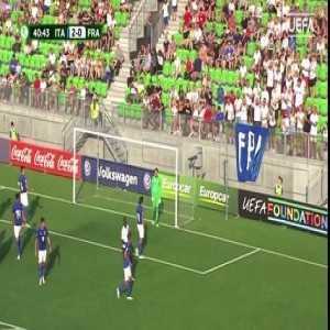 Italy vs France - Highlights & Goals - EURO U19