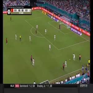 Alexis Sanchez (Manchester United) goal vs. Real Madrid ([1]-0)