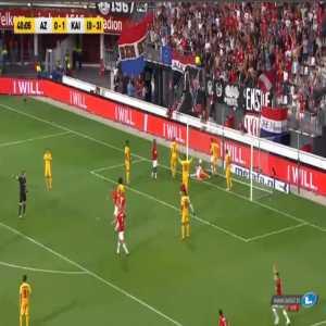 AZ Alkmaar [1]-1 Kairat Almaty [1-3 on agg.] - Guus Fact: 41'