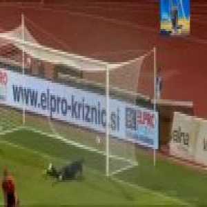 Domžale 1-[1] Ufa [1-1 on agg.] - Bojan Jokić 87'. Ufa advances and will face Progrès Niederkorn