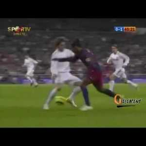 Throwback to When Ronaldinho vs Real Madrid At The Bernabeu - One of the best individual performance I ever witness
