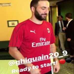 Higuain to AC Milan 📝✅