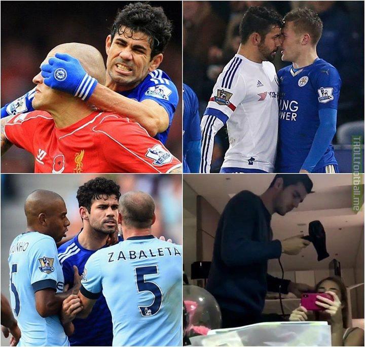 Diego Costa vs Alvaro Morata