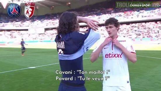 Maillot THIRD PSG Edinson CAVANI