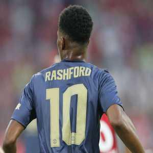 Marcus Rashford is Man Utd no.10