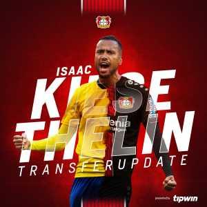 Bayer Leverkusen signs Isaac Kiese Thelin (Anderlecht, striker, loan with option)