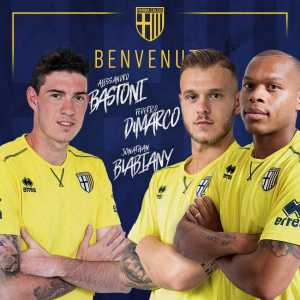 Parma sign Jonathan Biabiany, Alessandro Bastoni and Federico Dimarco from Inter