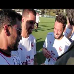 A Rossoneri dream come true - Private training session meet & greet, 3rd kit unveiling invitation, and a 92nd minute goal