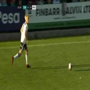 Cork City 0-1 Rosenborg - Jonathan Levi 22'
