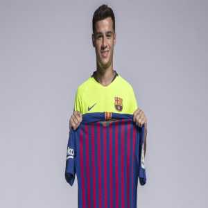 Coutinho is the new No.7 at Barcelona.