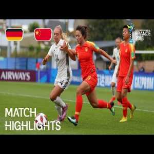 Germany v. China - FIFA U-20 Women's World Cup France 2018 - Match 16