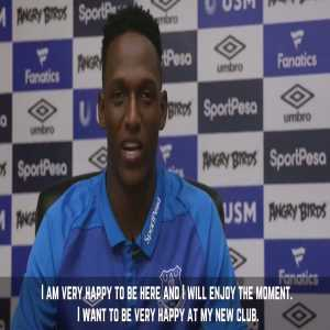"""""""It's important that the Club wants to fight for something. I'm delighted to be here."""" - Yerry Mina"""