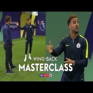 Kyle Walker explains his role as a Wing-Back under Pep Guardiola.
