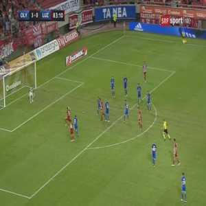 Olympiacos 4-0 Luzern - Miguel Guerrero 84'