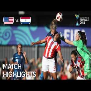 USA 6-0 Paraguay | FIFA U-20 Women's World Cup France 2018