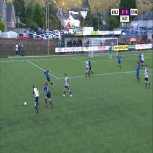 Bala 1-0 Carmarthen - Steven Tames 36' (Welsh Premier League) (rabona cross)