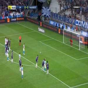 Dimitri Payet Goal - Marseille 1 vs 0 Toulouse