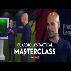 Pep guardiola discusses city's tactics
