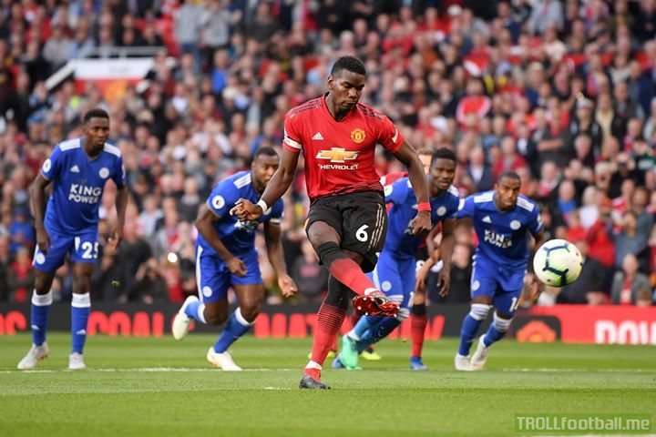 That didn't take long...   Paul Pogba scores the 1st goal of the 2018/19 Premier League season with less than 3 mins on the clock!