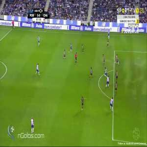FC Porto 5-0 Chaves - Marius Mouandilmadji 89'