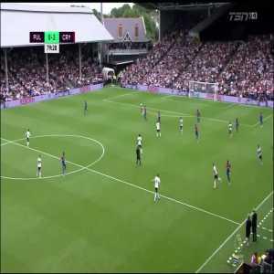 Fulham 0-2 Crystal Palace: Zaha
