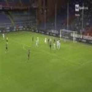 Krzysztof Piątek four goals against US Lecce (Genoa - US Lecce 4:0) - Coppa Italia