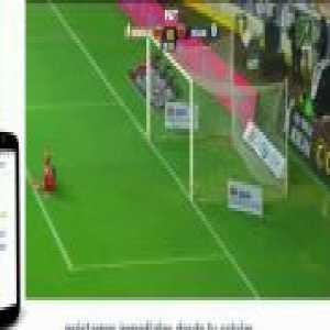 Morelia [1]-0 Necaxa - Diego Valdés great goal 19'