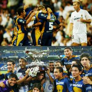 Pumas UNAM, the last squad to beat Real Madrid for the Santiago Bernabéu trophy back in 2004