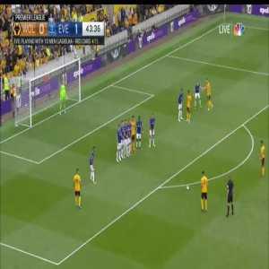 Wolves [1]-1 Everton - Rúben Neves 44'
