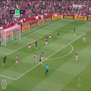 Arsenal 0-[1] Manchester City : Sterling 14'