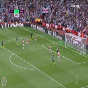 Arsenal 0-[2] Manchester City : Bernardo Silva 64'