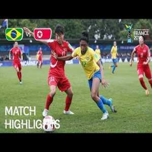 Brazil 1-2 Korea DPR | FIFA U-20 Women's World Cup France 2018