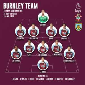 Hart is starting for Burnley FC