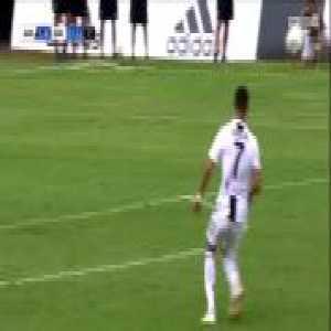 Juventus A [1]-0 Juventus B - Cristiano Ronaldo 7'
