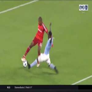 Los Angeles FC goalkeeper Luis Lopez's risky dribbling vs. Sporting Kansas City