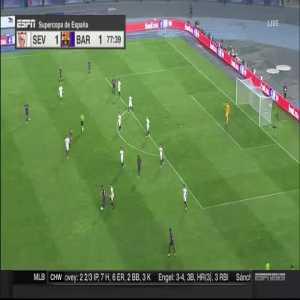 Ousmane Dembele (Barcelona) goal vs. Sevilla (1-[2]) [2018 Supercopa de España]