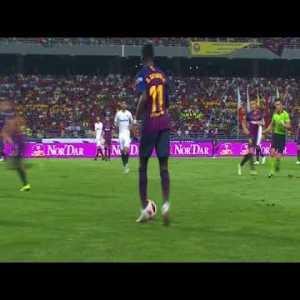 Ousmane Dembele vs Sevilla FC (Complete performance) 18/19 Supercup