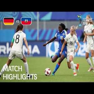 Germany 3-2 Haiti | FIFA U-20 Women's World Cup France 2018