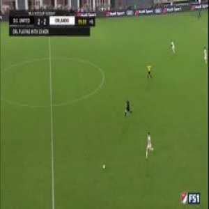 Insane ending in DC United vs. Orlando City with Wayne Rooney making a game saving tackle on an open net, followed immediately by putting in the game winning assist.