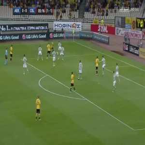 AEK 1-0 Celtic [2-1 on agg.] - Rodrigo Galo 6'