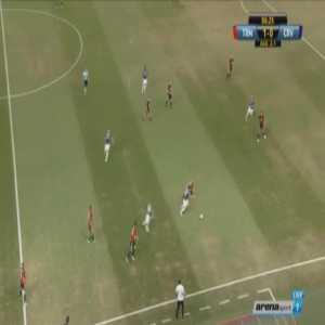 Spartak Trnava 1-[1] Red Star Belgrade [2-2 on agg.] - El Fardou Mohamed Ben Nabouhane 7'